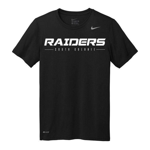 Black Raiders South Colonie Nike Legend Tee
