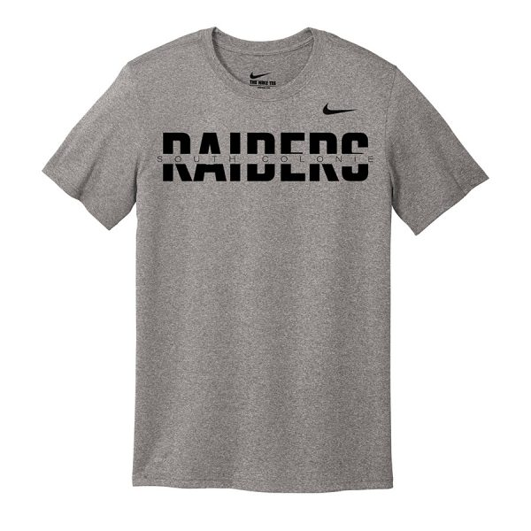Carbon Heather South Colonie Raiders Nike Legend Tee