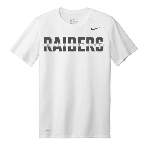 White South Colonie Raiders Nike Legend Tee