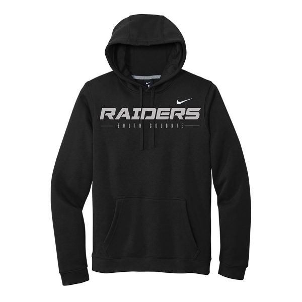 Black Raiders South Colonie Club Fleece Pullover Hoodie