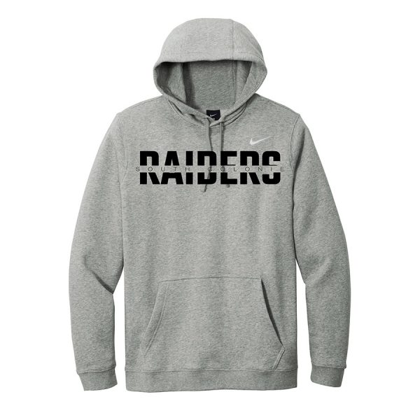 Dark Grey Heather South Colonie Raiders Club Fleece Pullover Hoodie
