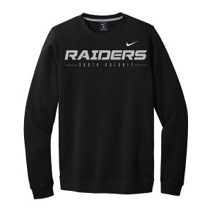 Black Raiders South Colonie Club Fleece Crew