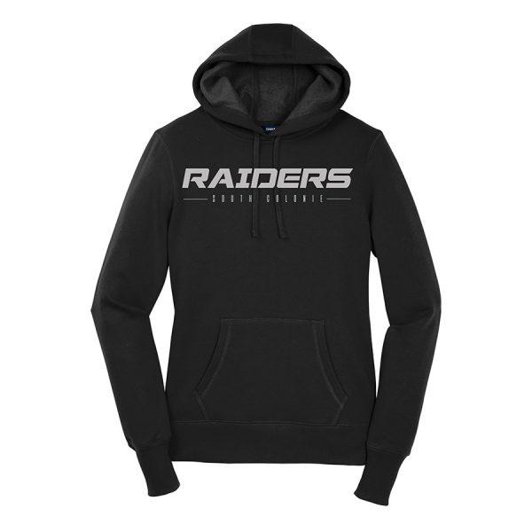 Black Raiders South Colonie Ladies Sport-Tek Pullover Hooded Sweatshirt
