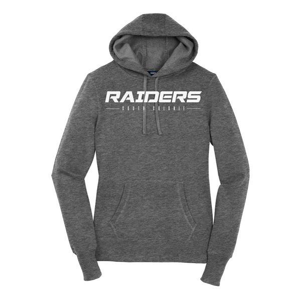 Vintage Heather Raiders South Colonie Ladies Sport-Tek Pullover Hooded Sweatshirt