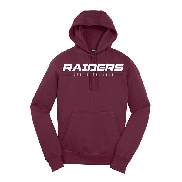 Maroon Raiders South Colonie Sport-Tek Pullover Hooded Sweatshirt