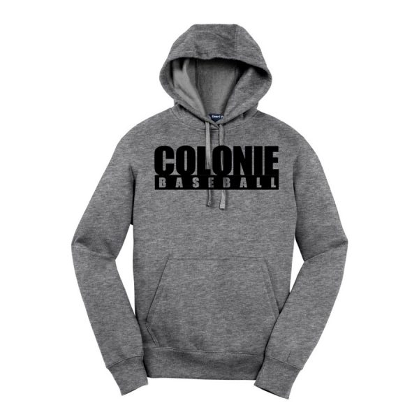 Vintage Heather Colonie Baseball Sport-Tek Pullover Hooded Sweatshirt