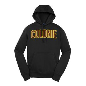 Black Colonie Youth Sport-Tek Pullover Hooded Sweatshirt