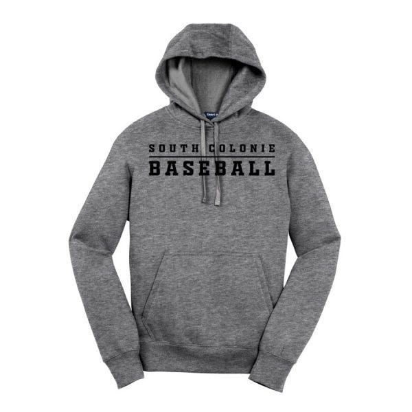 Vintage Heather South Colonie Baseball Youth Sport-Tek Pullover Hooded Sweatshirt