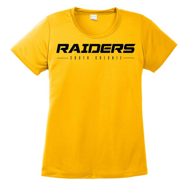 Gold Raiders South Colonie Ladies Performance Cooling Tee