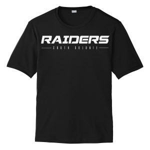 Black Raiders South Colonie Performance Cooling Tee