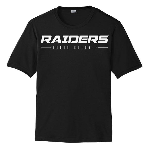 Black Raiders South Colonie Performance Cooling Tee
