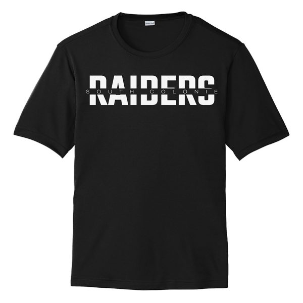 Black South Colonie Raiders Performance Cooling Tee
