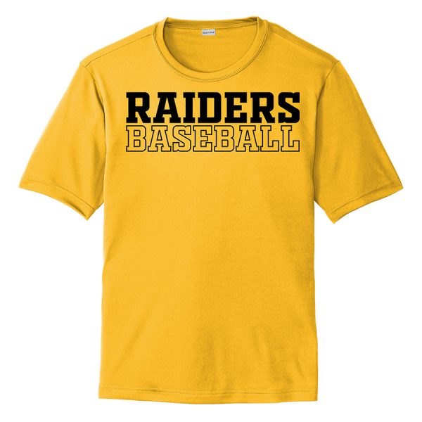 Gold Raiders Baseball Performance Cooling Tee