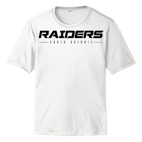 White Raiders South Colonie Performance Cooling Tee