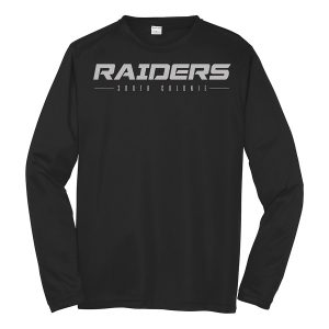 Black Raiders South Colonie Long Sleeve Performance Cooling Tee