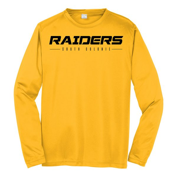 Gold Raiders South Colonie Long Sleeve Performance Cooling Tee