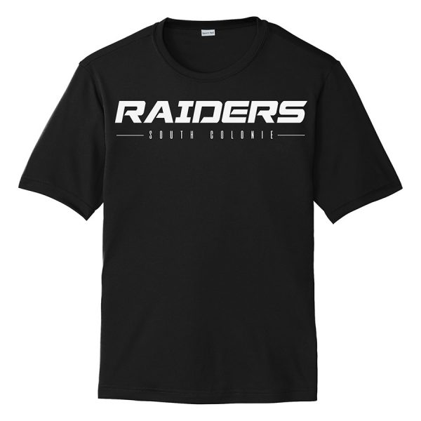 Black Raiders South Colonie Youth Performance Cooling Tee