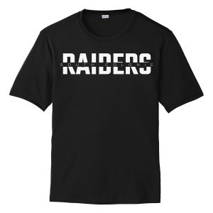 Black South Colonie Raiders Youth Performance Cooling Tee