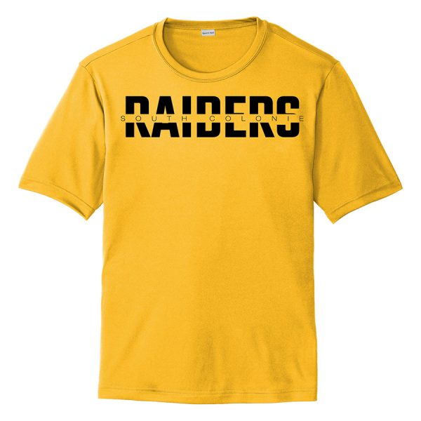 Gold South Colonie Raiders Youth Performance Cooling Tee