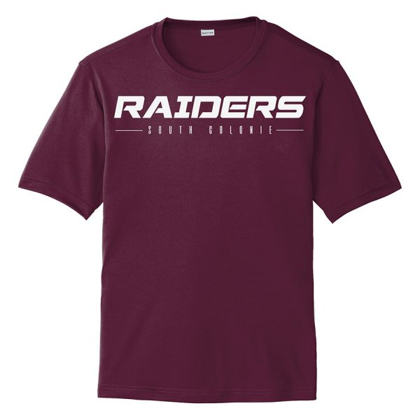 Maroon Raiders South Colonie Youth Performance Cooling Tee