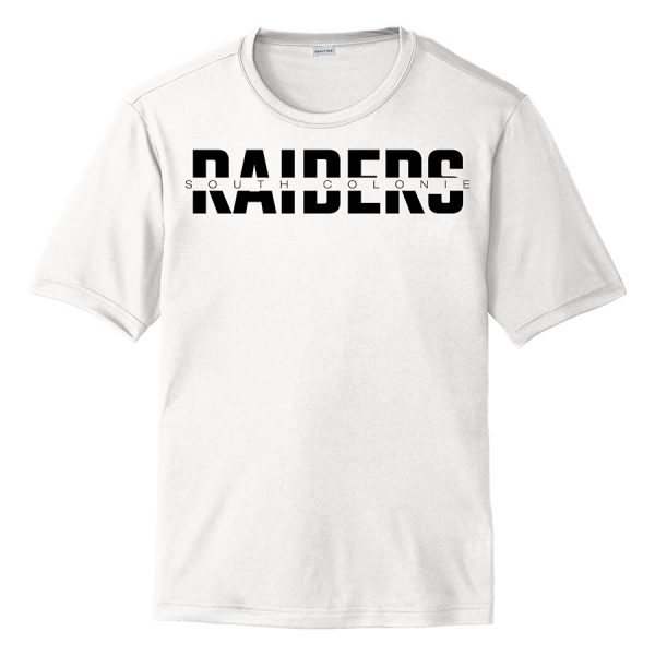 White South Colonie Raiders Youth Performance Cooling Tee