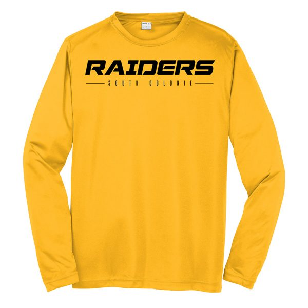 Gold Raiders South Colonie Youth Long Sleeve Performance Cooling Tee