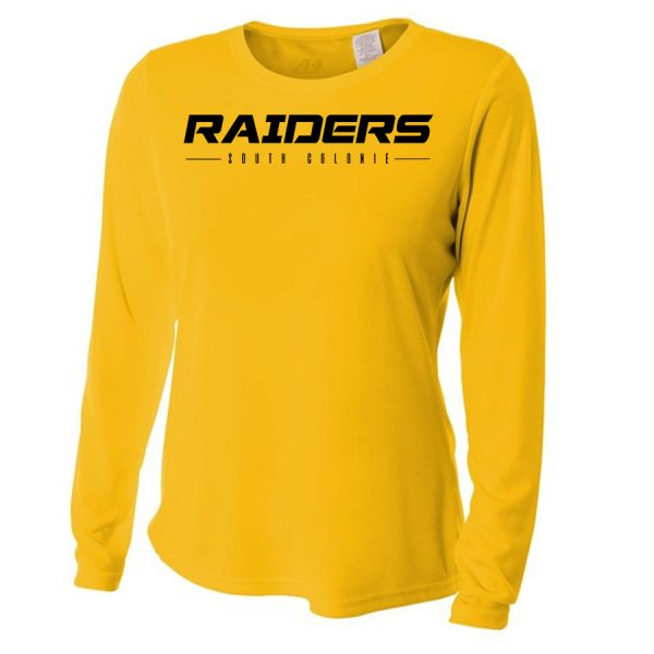Gold Raiders South Colonie Ladies Long Sleeve Performance Cooling Tee