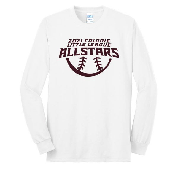 2021 AllStars Youth Long Sleeve Shirt White