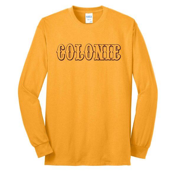 Colonie AllStars Long Sleeve 50/50 Blend Shirt Gold