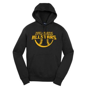 2021 AllStars 50/50 Blend Hoodie Black