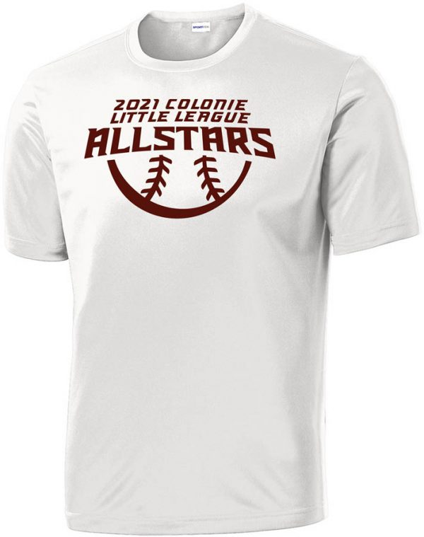 2021 AllStars Short Sleeve DriFit Shirt White