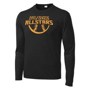 2021 AllStars Long Sleeve DriFit Shirt Black