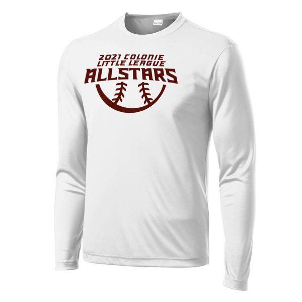 2021 AllStars Long Sleeve DriFit Shirt White